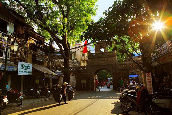Góc phố cổ kính tại Hà Nội