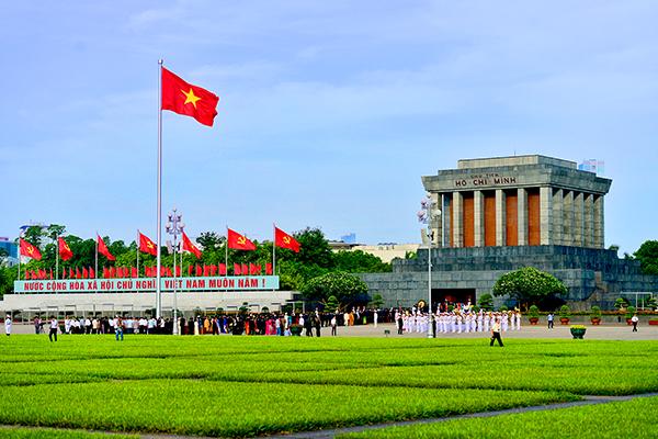 Quảng trường Ba Đình - Lăng Chủ Tịch Hồ Chí Minh
