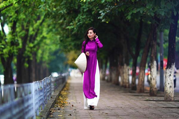 Tà áo dài xứ Huế