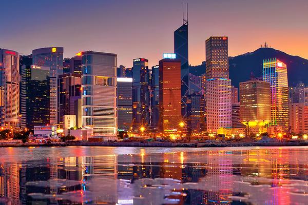 Hồng Kông lộng lẫy về đêm