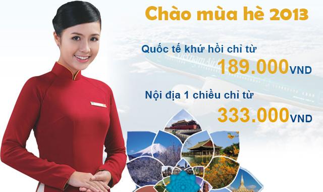 Chương trình khuyến mãi của hãng Vietnam Airlines