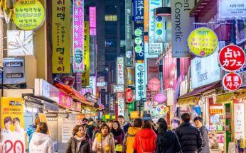 Khu mua sắm nổi tiếng Myeongdong