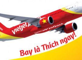 Vé máy bay giá rẻ tháng 1 Vietjet chỉ từ 299.000 đồng