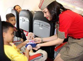 Giá vé trẻ em đi máy bay Vietjet