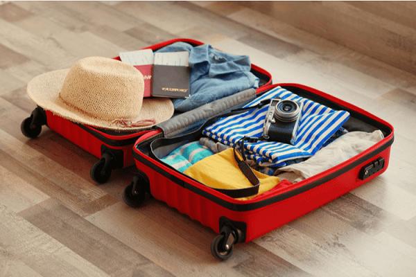 Và mang theo hành lý gọn nhẹ, dễ mang theo khi di chuyển